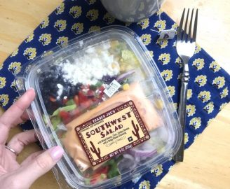 Trader Joe's Southwest Salad Between Clients to Keep my Energy up and my Focus Good. Yum, so good!