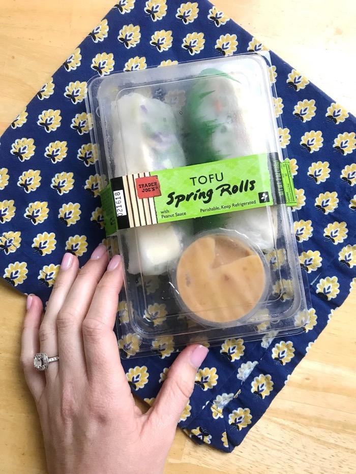 Trader Joe's Tofu Spring Rolls. Always a Favorite!