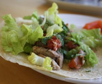 Mediterranean Style Chicken Wrap