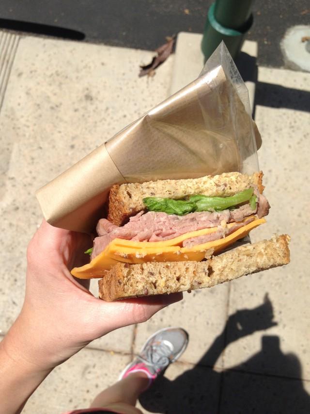 Sandwich from Haggens (1)