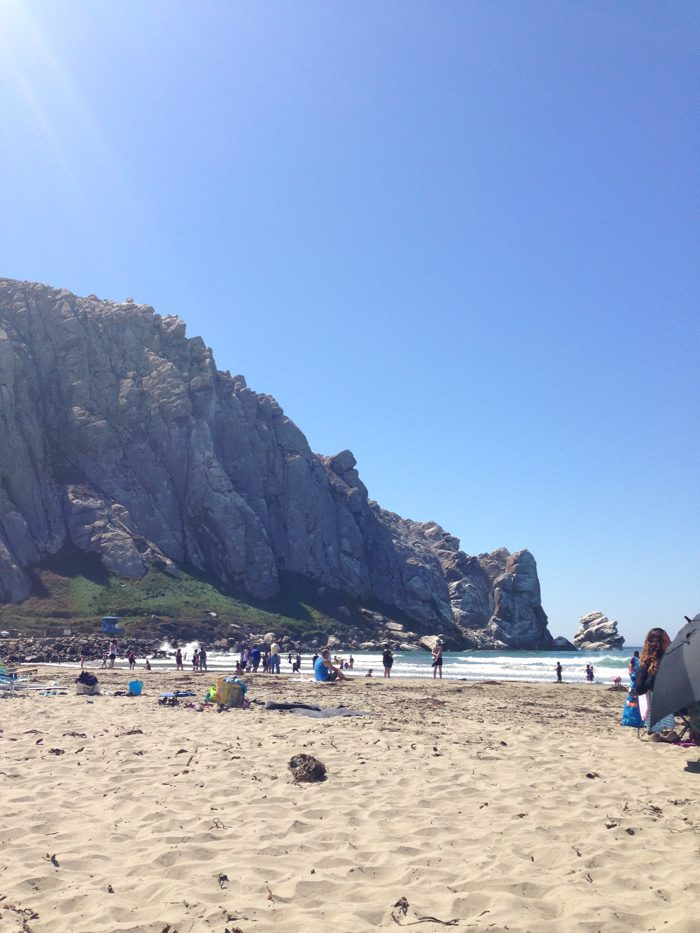 Our Favorite Beach to Spend the Afternoon in San Luis Obispo, California | Morro Bay Beach