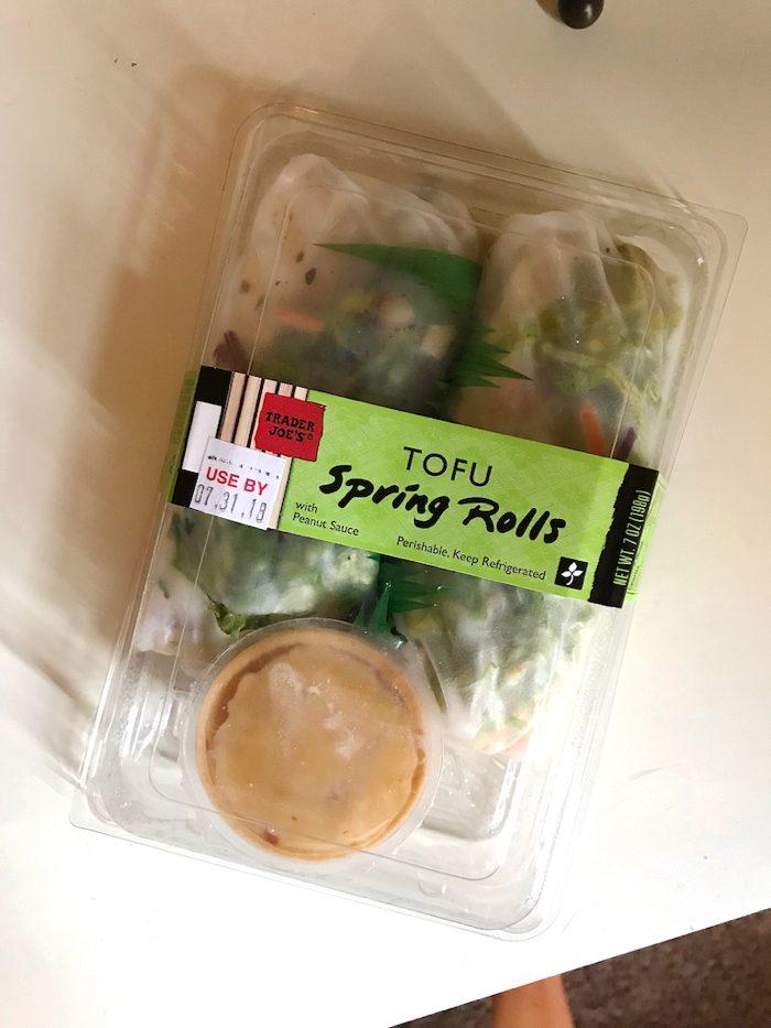 ti's tofu spring rolls