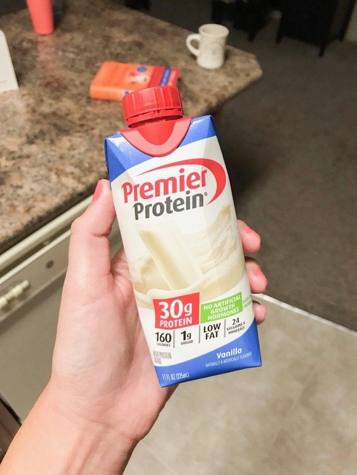 vanilla protein shake