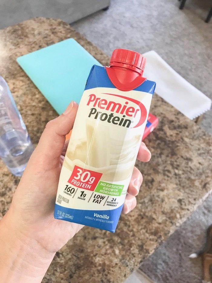vanilla premier protein