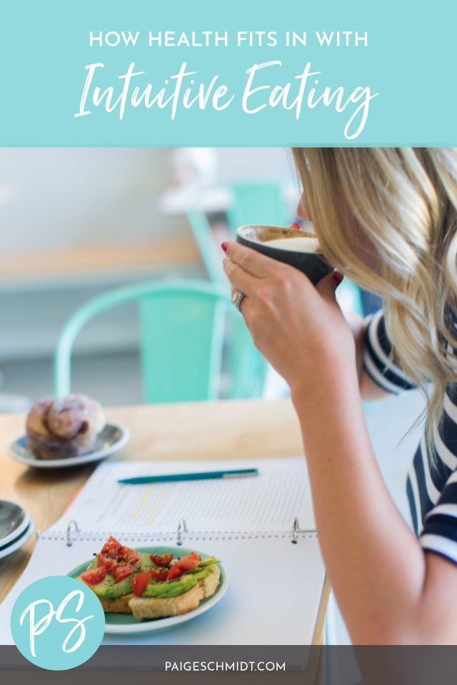 How does healthy food (and eating for health and longevity) fit in with intuitive eating?