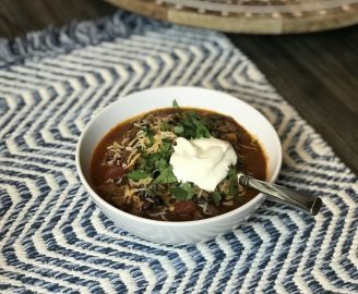 Instapot Chili Recipe. This recipe is for those of you who like a heavy, smoked, flavorful dish. It tastes even better as leftovers with wine.