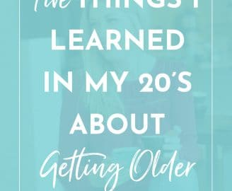 Read Five Things that Shifted My Perspective About Getting Older and How I Learned Aging is a Real Gift.