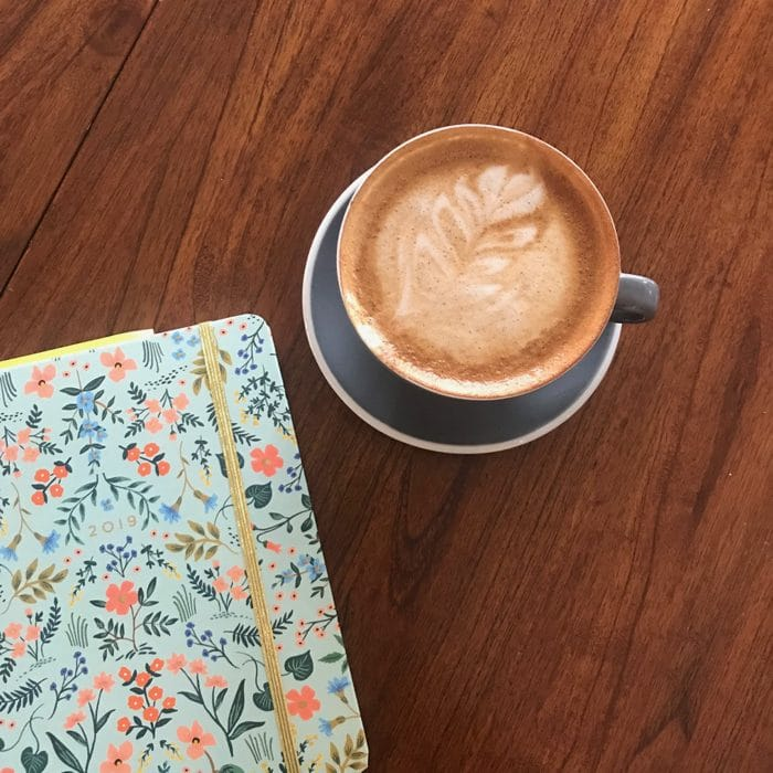 """Co-Working From Hub Coffee Roasters in Reno, Nevada. My Order was a """"Dirty Chai"""" - Chai With Espresso."""