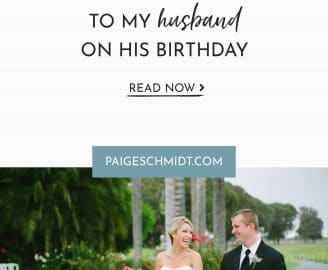 An open-letter to my husband on his birthday. Celebrating our love story after almost 15 years of friendship and 5 years of marriage.