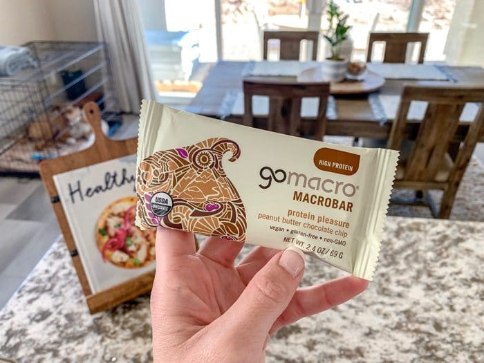 GoMacro's Protein Pleasure bar.