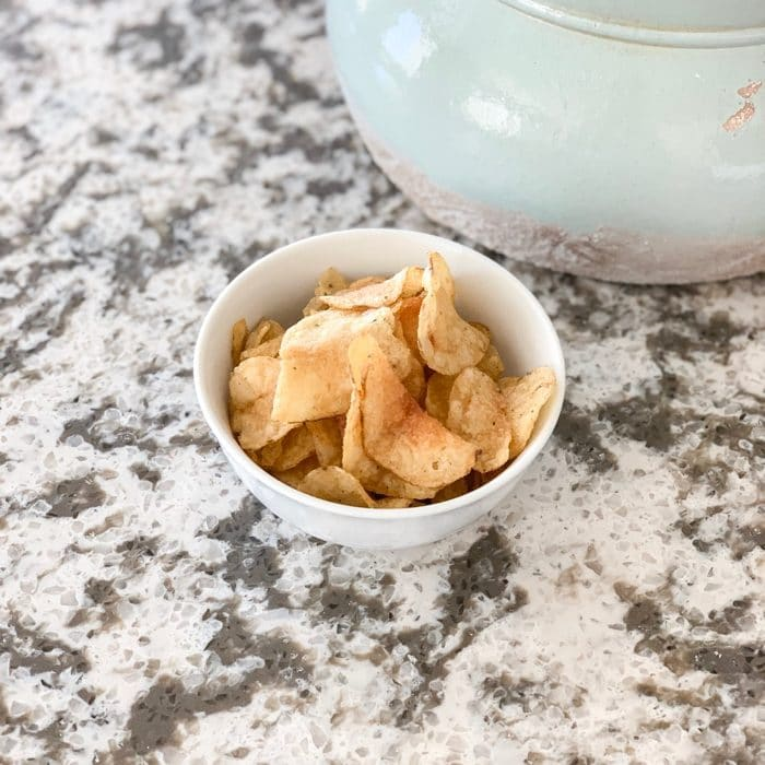 """Salted Kettle Chips - the perfect mid-day """"crunch"""" and carb craving"""