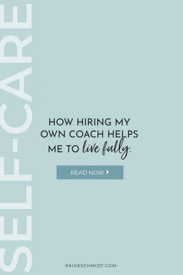 Hiring a coach gives me the motivation to prioritize what is most important to me. Instead of feeling afraid that I won't fulfill or do all that is important to me, I just trust that I'm on my way.