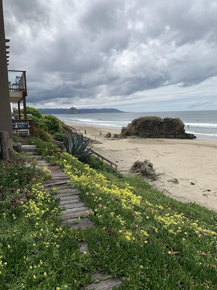 Beach walk in SLO
