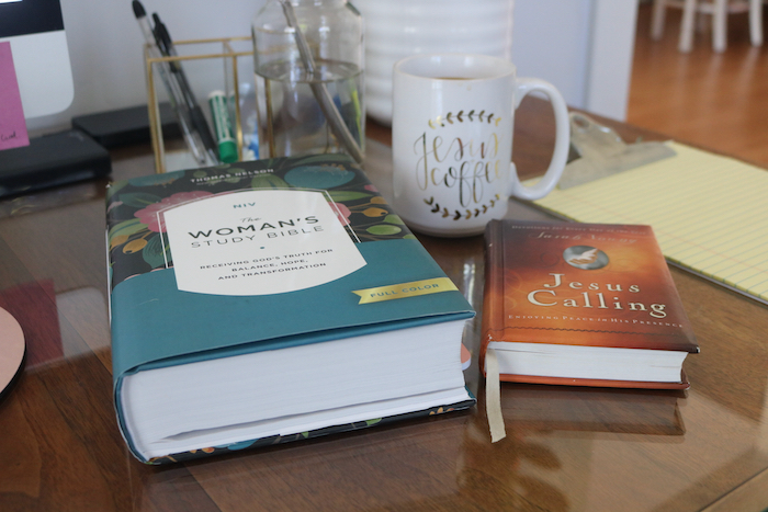 I took 15 minutes to sip some coffee and dive into my bible and journal.