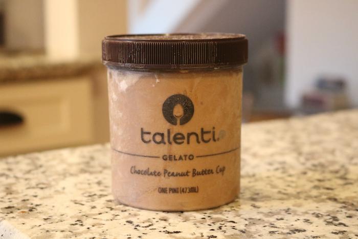 Talenti chocolate peanut butter cup ice cream