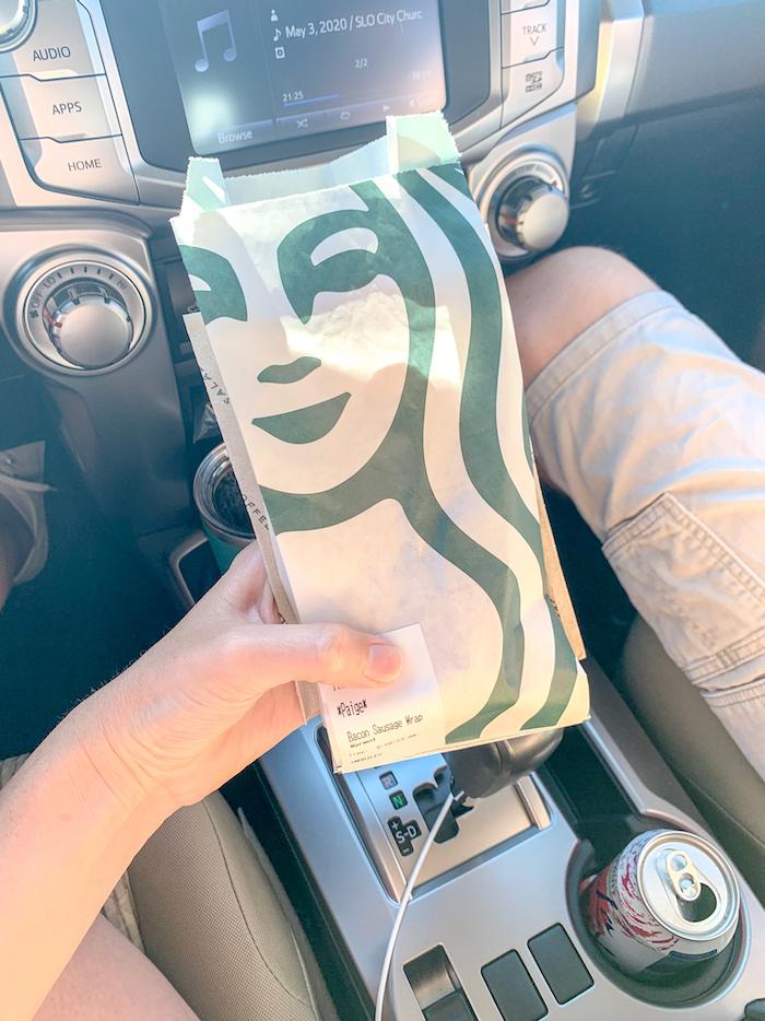 New breakfast burrito from Starbucks