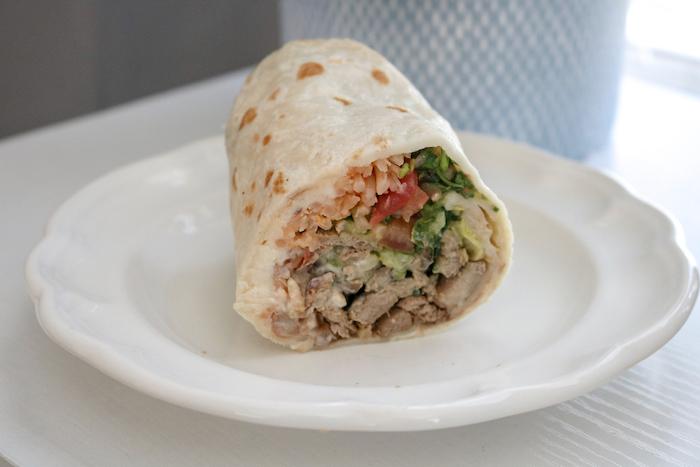 other half of my carne asada burrito