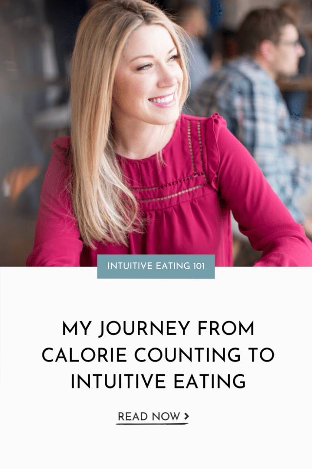 My Journey From Calorie Counting to Intuitive Eating