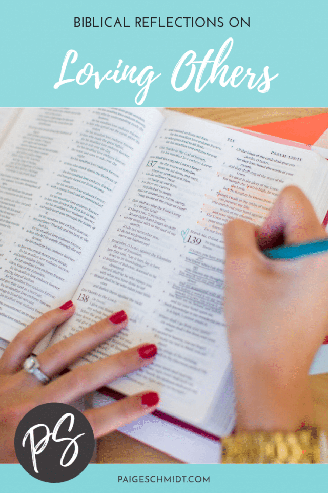 Biblical Reflections on Loving Others (As Much As We Love Ourselves)