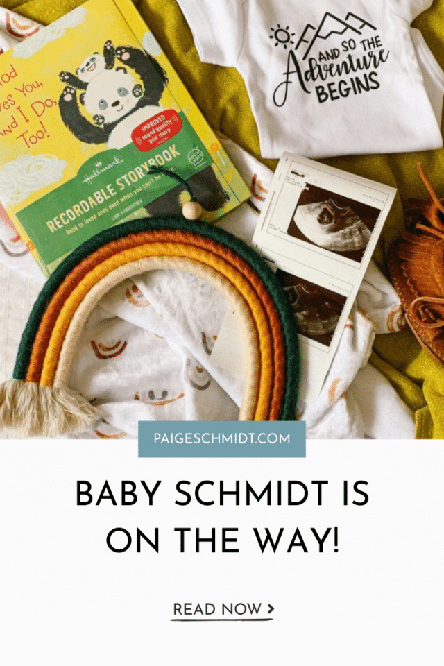 Baby Schmidt Is On The Way!
