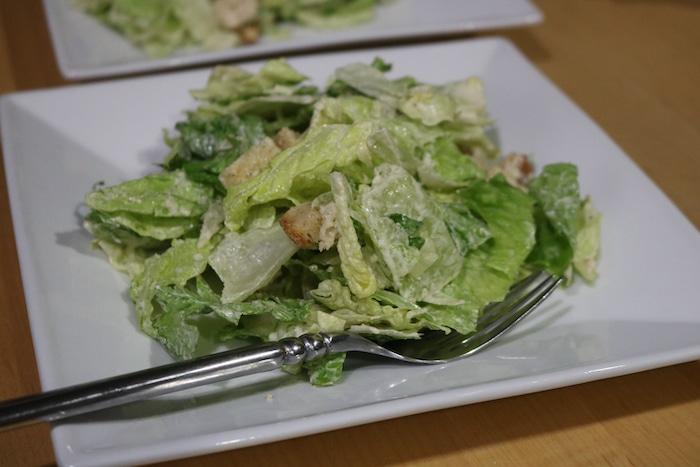 Caesar salad kit.
