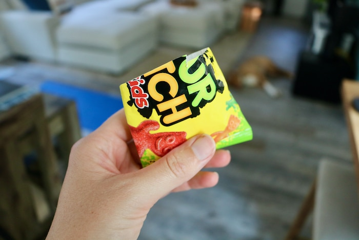 Bag of sour-patch kids