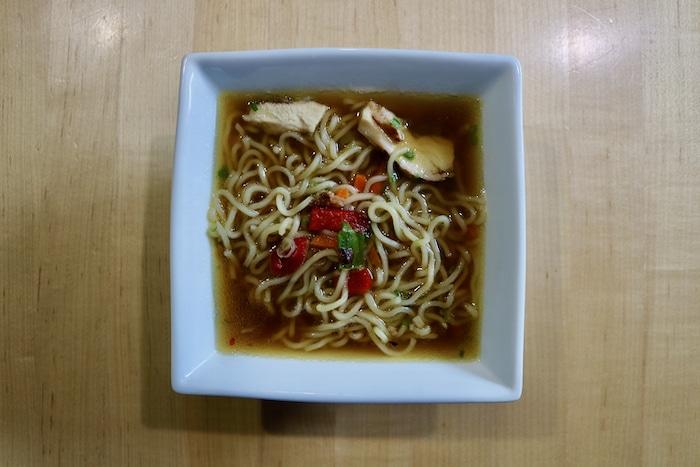 Ramen bowl (pre-made from Costco