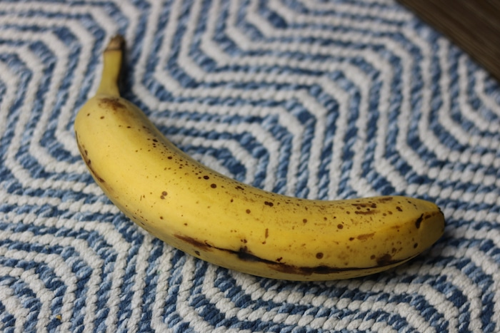 Before we left, I snacked on this banana (shared a few bites with Marco) and drank tons of water.