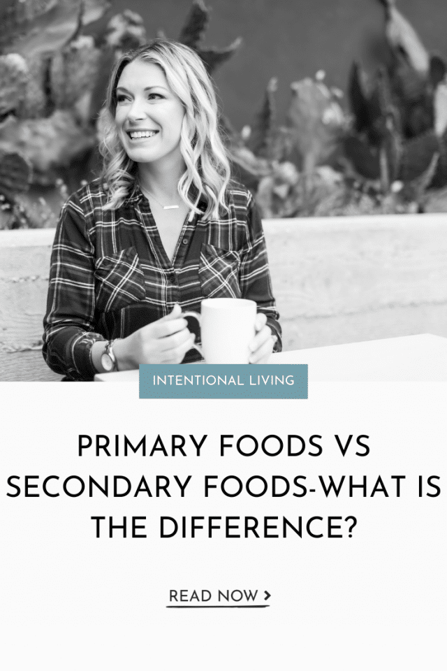 Primary Foods Vs Secondary Foods-What is the Difference