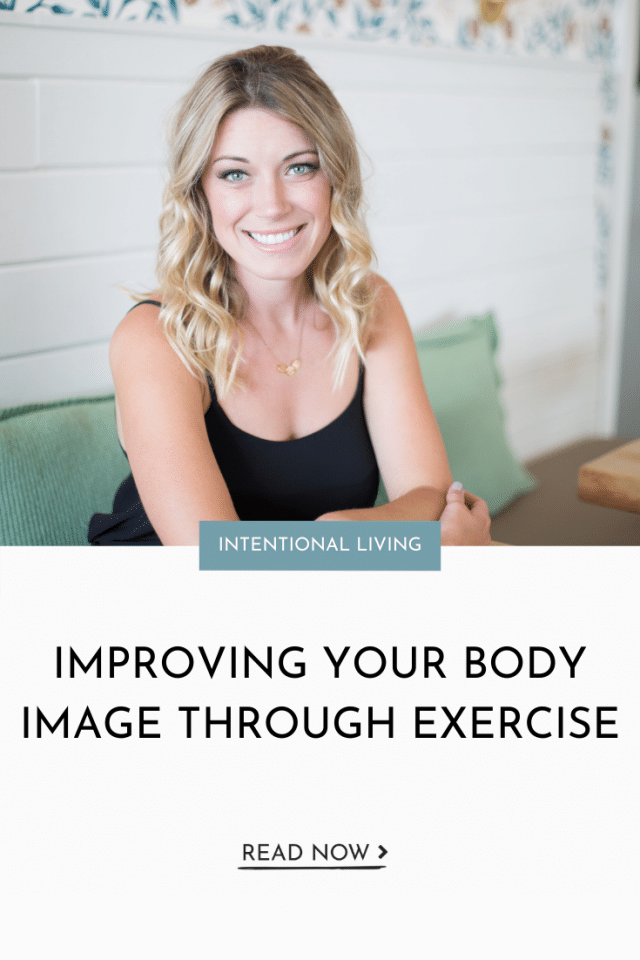 Improving Your Body Image Through Exercise