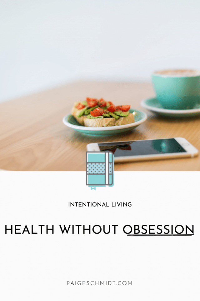 Health Without Obsession